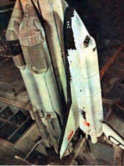 """Первая ступень ракеты-носителя  """"Энергия """" состоит из четырех боковых блоков А, каждый из которых является доработанным..."""