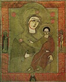 Лицевом шитье богоматерь одигитрия