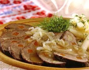 Блюда сложной горячей продукции из мяса