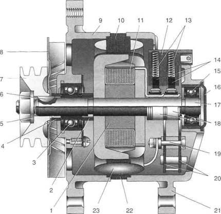 Система зажигания двигателя ЗМЗ-402.